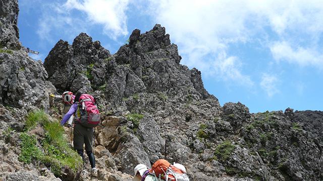 赤岳登山2014
